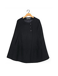 Климент женская мода Корея Стиль тонкий твид пальто