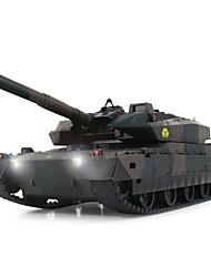 xq cargo tanque rc xqtk24-2 japón caterpillarself defensa tanque de juguete fuera de carretera con luz y sonido