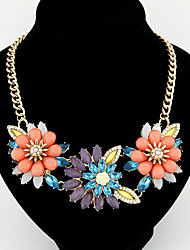 Colorful day  Women's European and American fashion necklace-0526030