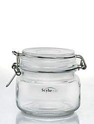 plaza de múltiples almacenamiento propósito 0.5l frasco de vidrio