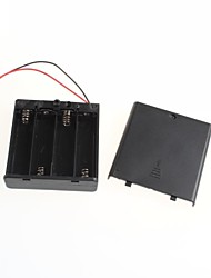 Sealed With A Switch 6V Battery Box 4 AA 5 AA
