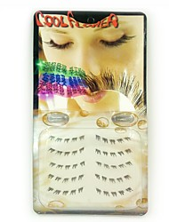 5pcs Handmade Crystal Edge Lower Eyelashes