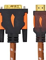 3m 9.84ft HDMI mâle vers DVI mâle