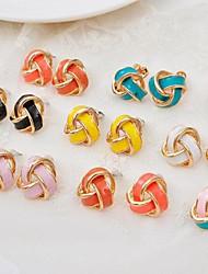 Kinder/Damen Ohrring Legierung Stud Earrings