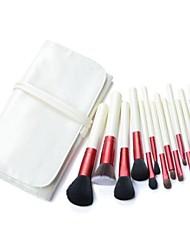 14pcs professionele make-up borstel set kit make-up kwasten& gereedschap