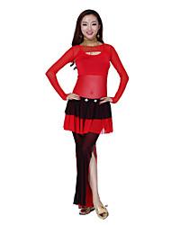 Belly Dance Dancewear Women's Lovely Tulle Skirts(More Colors)