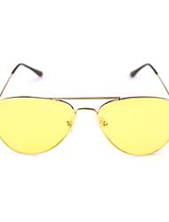 Sonnenbrillen hombres / mujeres / Unisex's Klassisch / Retro / Vintage / Sport Flyer Gelb Sonnenbrillen / Fahren / Night Vision Goggles