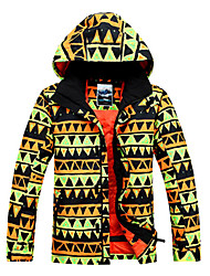 Gsou Snow Outdoor Forrest Prince Breathable Polyester Men's Thermal Ski Down Jacket