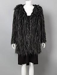 Fur Coat Women's Fashion Slim Fur  Coat