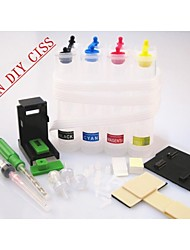 BLOOM® Continuous Ink Supply System Universal 4Color CISS Kit With Accessaries Ink Tank For Canon Printers