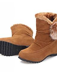 babiniu мода женские Новые все подобранные низком каблуке с низким снегоступы
