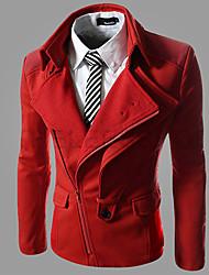 HUIZI Men's Fashion Korea Style Casual Slim Coat