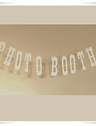 "Wedding Décor  Photo Props ""PHOTO BOOTH"" Party Bunting Garlands Venue Decor"