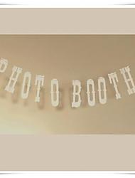 """mariage décor accessoires photo """"photomaton"""" guirlandes de bruant du parti lieu décor"""