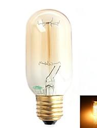 Zweihnder E26/E27 40W 1 500 LM Warm White ST64 Decorative Incandescent Bulbs AC 220-240 V