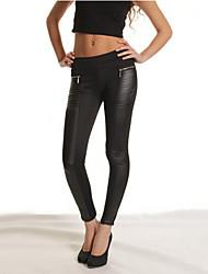 Emma Women's All Matching Zipper Occidental Style Pants