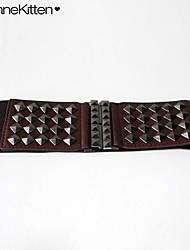 Women Waist Belt/Wide Belt , Vintage/Work/Casual Brass