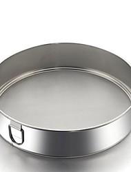 """Round  Flour Powdered Sugar Sieve 304 Stainless Steel 7.9""""*7.9""""*1.8"""""""