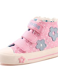 Girl's Sneakers Spring / Summer / Fall / Winter Comfort Cotton Casual Magic Tape Blue / Pink / Navy