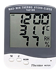 Household Thermometer Hygrometer with Time Display Function WALVICO TA218B