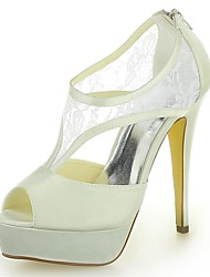 Women's Wedding Shoes Heels/Platform Sandals Wedding Ivory/White/Champagne