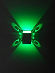3w moderna applique da parete led con dispersione della luce sci-fi di design 90-240v