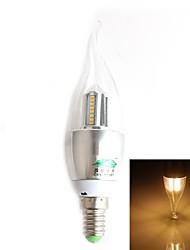 4W E14 Ampoules Bougies LED CA35 32 SMD 3014 280 lm Blanc Chaud Décorative AC 100-240 V