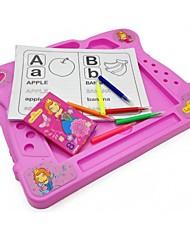 Children Pink Color Learning Education Drawing Desk Board