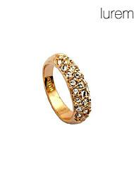 lureme®diamond entièrement clouté anneau