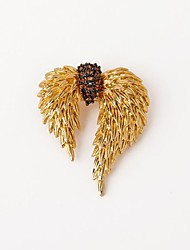 Ladies' Alloy Brooch Gold