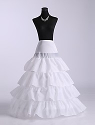 Ball Gown Slip Four Tiers Petticoats