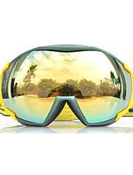 Basto nueva moda de diseño de lentes grandes gafas de nieve de esquí