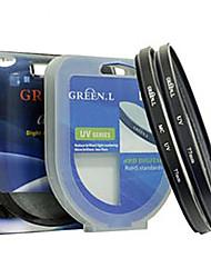 (40,5 millimetri) foglia verde filtro uv