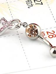 Piercing Schmuck Bogen Klingelknopf Ringe zufällige Farbe