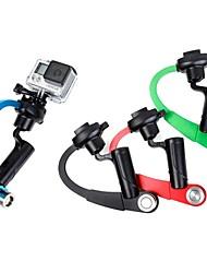 toz arco estilo tiro vedio mão-hold stablizer para GoPro Hero 3/4 + / 3/2 (cores sortidas)