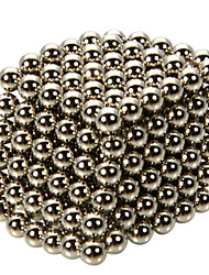 216pcs 4.8mm DIY Buckyballs and Buckycubes Magnetic Blocks Balls Toys with Iron Box Silver