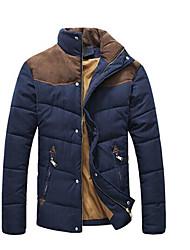 stand épissage casual manteau de coton de cou de alexis hommes