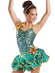 Jzz Dance Dancewear Adults Children's Sequin Ballet Tutu Dress
