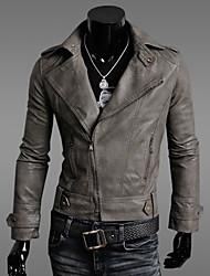 Джейсон мужские случайные пользовательских подходят отворот шеи пальто