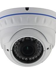 cctv 2.8-12mm varifocal IR a prueba de vandalismo cámara domo de 1/4 CMOS 700TVL con IRCUT 30m ir cubierta xv-v802v7