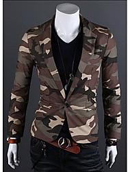 personalizzato casuale fit risvolto collo giacca sportiva degli uomini di Jason