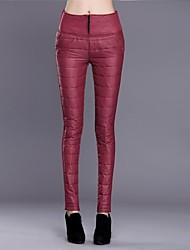 pantalones pies moda fina de las mujeres