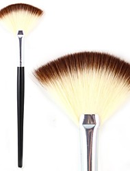 Professional Fan Brush Powder Foundation Blush Makeup Tool