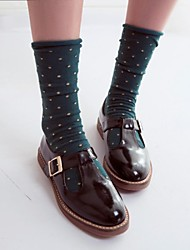 Women's Shoes Round Toe Flat Heel Loafers with Buckle Shoes More Colors available