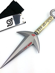 Naruto 4th Hokage 23cm Alloy Kunai Model Cosplay Weapon