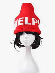 Women's Cute Winter Conical Roof Curling Knitted Hat