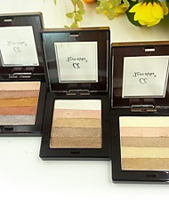 5Colors Bright and Grilled Eyeshadow(3 Selectable Colors)