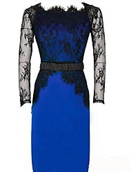 Moon Sunday Women's Elegant Bodycon Lace Dress