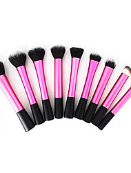 9 Makeup Brushes Set Synthetic Hair Face / Lip / Eye Others