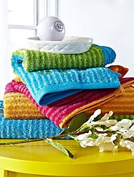 SenSleep® 3pcs Hand Towel Pack, Multi-Color Rainbow Design 100% Cotton Hand Towel